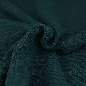 Organic Slub Jacquard Knit in Bottle Green von mind the MAKER
