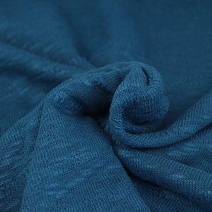 Organic Slub Jacquard Knit in Ocean von mind the MAKER