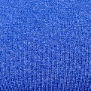 Bio Sommersweat French Terry uni blau meliert