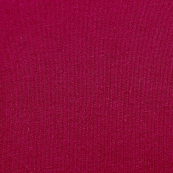 Bio Sommersweat French Terry uni bordeaux