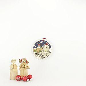 Tigapigs Xmas Geschenkanhänger für Weihnachten