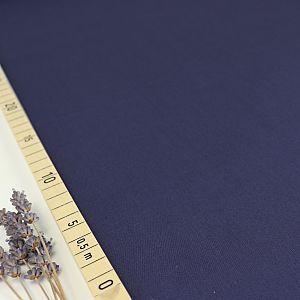 Uni Bio Popeline dunkelblau von Amandine Cha