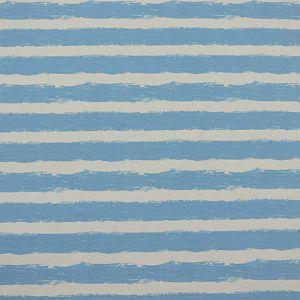 Bio Wintersweat Mellow Stripes lichtblau von Stoffonkel