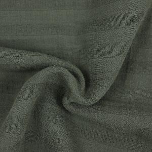 Bio Baumwollmusselin in khaki von Stoffonkel