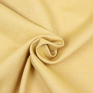 Bio Chambray uni Safran gelb von Amandine Cha